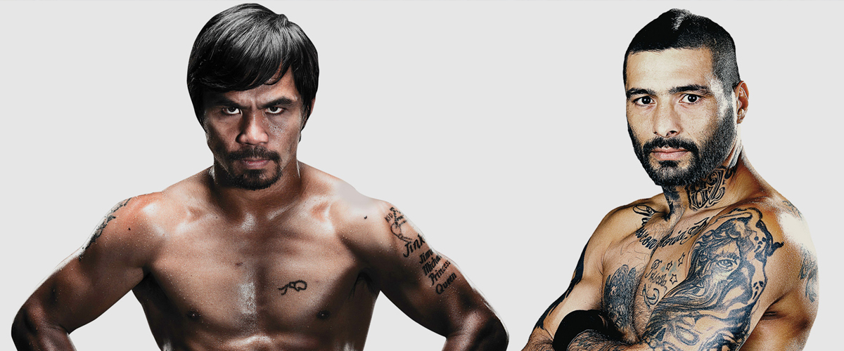 EVENTO EXCLUSIVO<br>MATTHYSSE-PACQUIAO