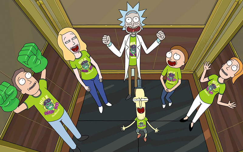 TNT Series estrena la tercera temporada de Rick & Morty