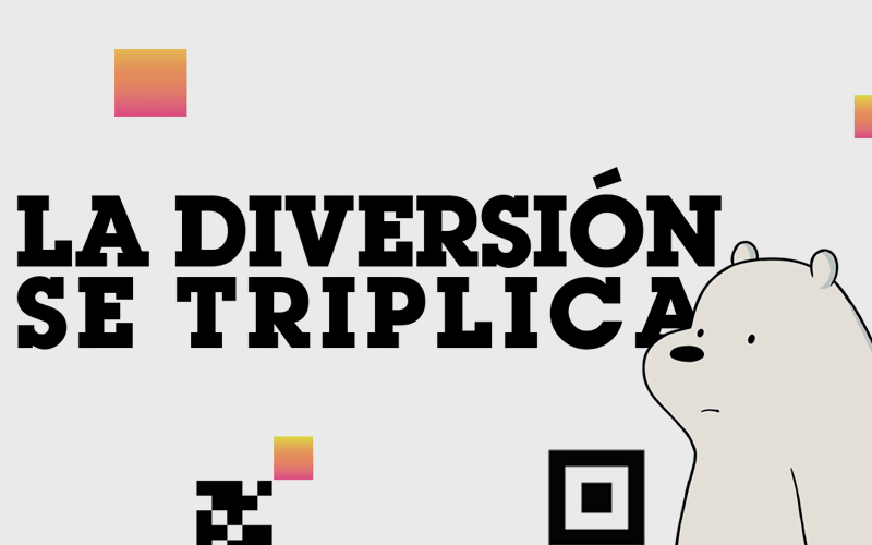 ¡Mundo Cartoon Network triplica su diversión!